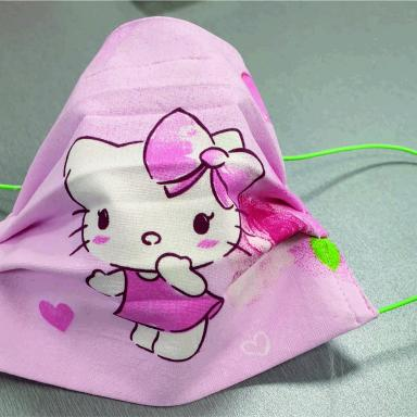 Masque enfant Hello Kitty