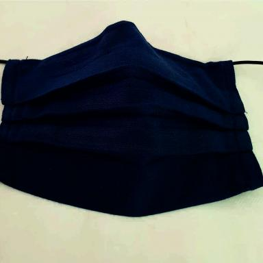 Masque barrière bleu 3 couches