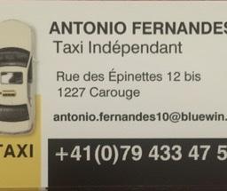 Chauffeur de taxi indépendant